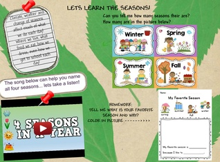 Lets learn the seasons