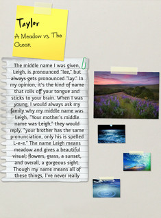 A Meadow vs. An Ocean