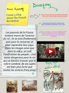 French 3 Assignment