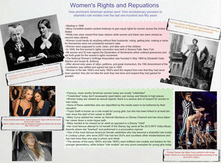 Womens Rights and Reputations
