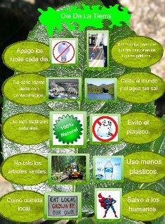 Earth day Spanish