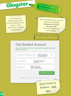 students register their own accounts