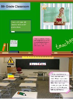 Young Teacher Monlogue Poster