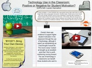 Technology Use in the Classroom's thumbnail
