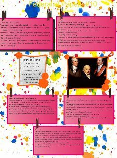 The Federalist Papers #10 period 1