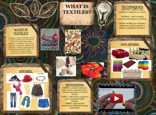 What is textiles?