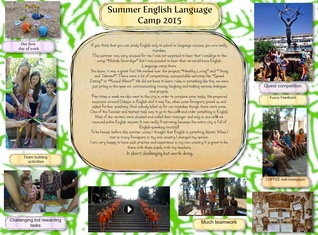 Summer English Language Camp
