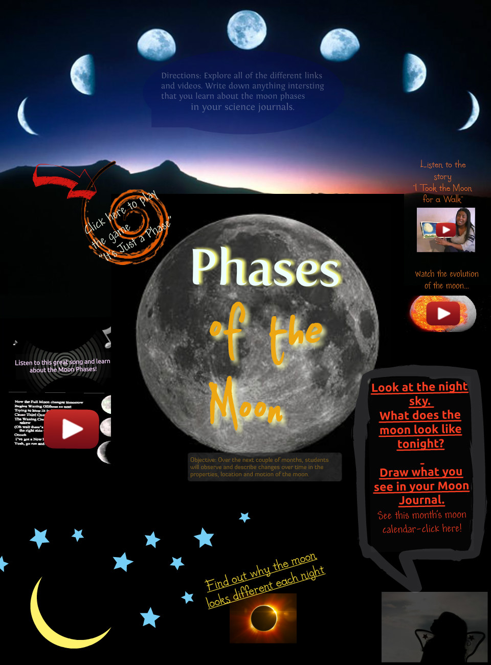 New Glogphases of the moon
