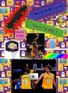 LA LAKERS By: LANE M