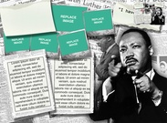 Martin Luther King template's thumbnail