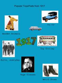 Popular Toys/Fads from 1917