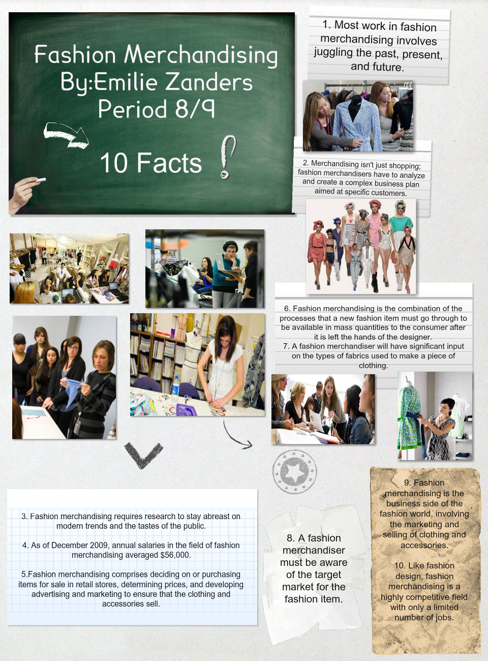 Cta Fashion Merchandising 10 Facts Text Images Music Video Glogster Edu Interactive Multimedia Posters
