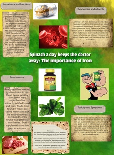 Spinach a day keeps the doctor away: The importance of Iron