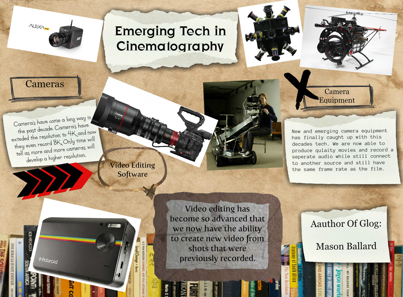 Emerging Tech in Cinematography