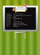 4th Grade Schedule's thumbnail
