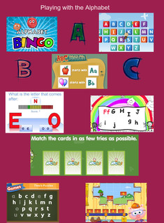 Playing with the Alphabet (Beginning Readers)
