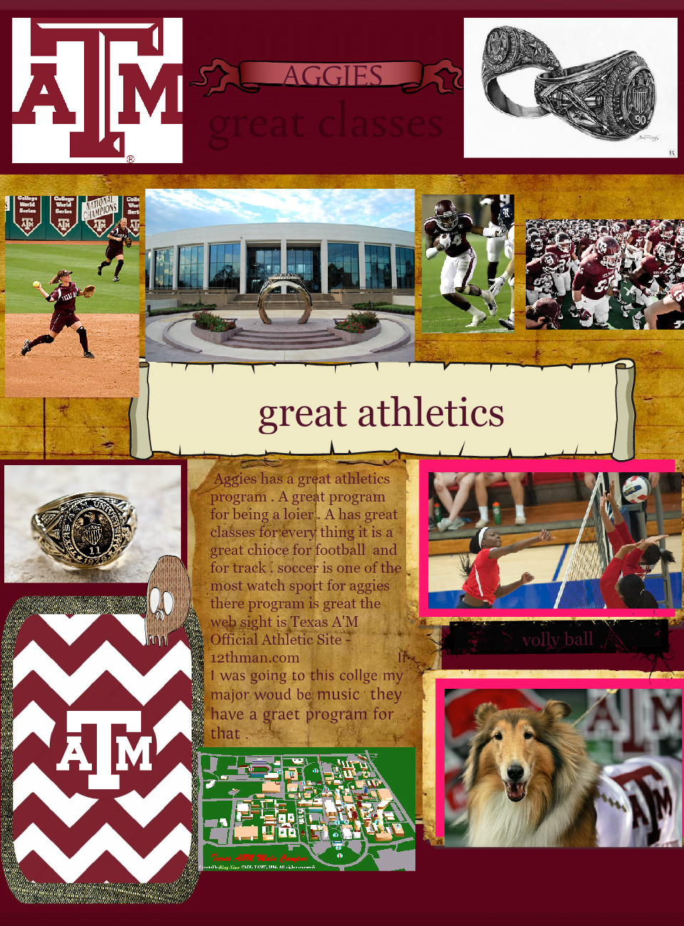 Aggies great athletics
