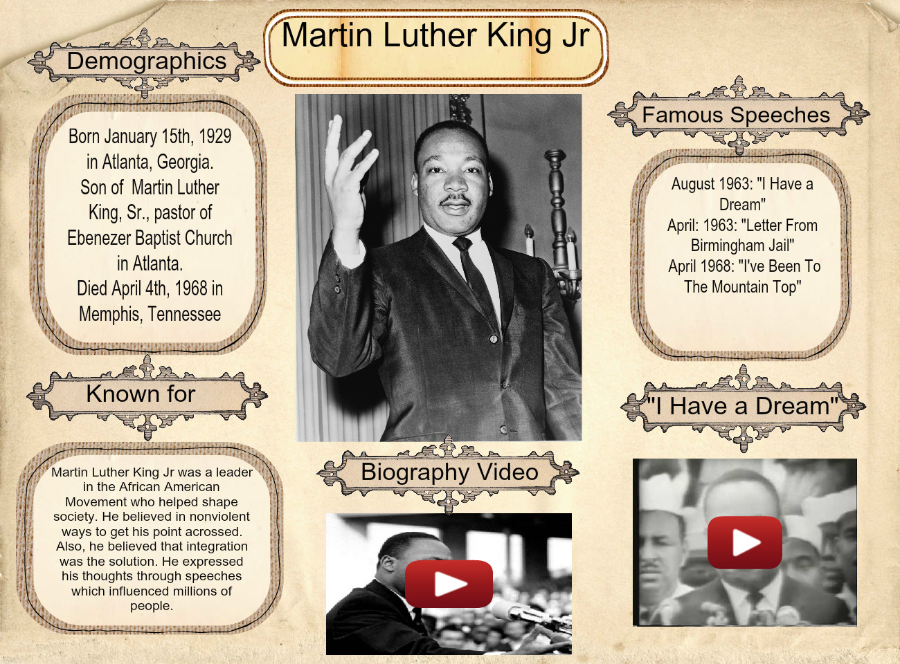 [2015] Jaciely Cartagena: Martin Luther King Jr