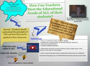 Dr. Rogers' Glogster Example on UDL, MTSS, & Differentiation's thumbnail