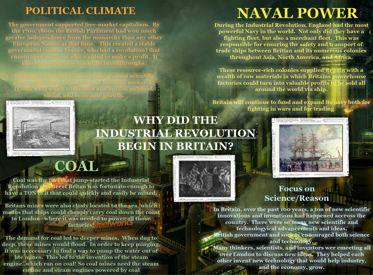 Why did Britian Industrialize First?
