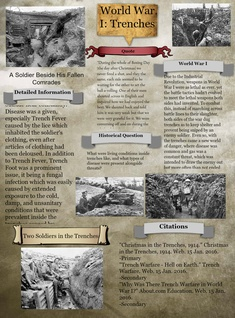 World War I:Trenches