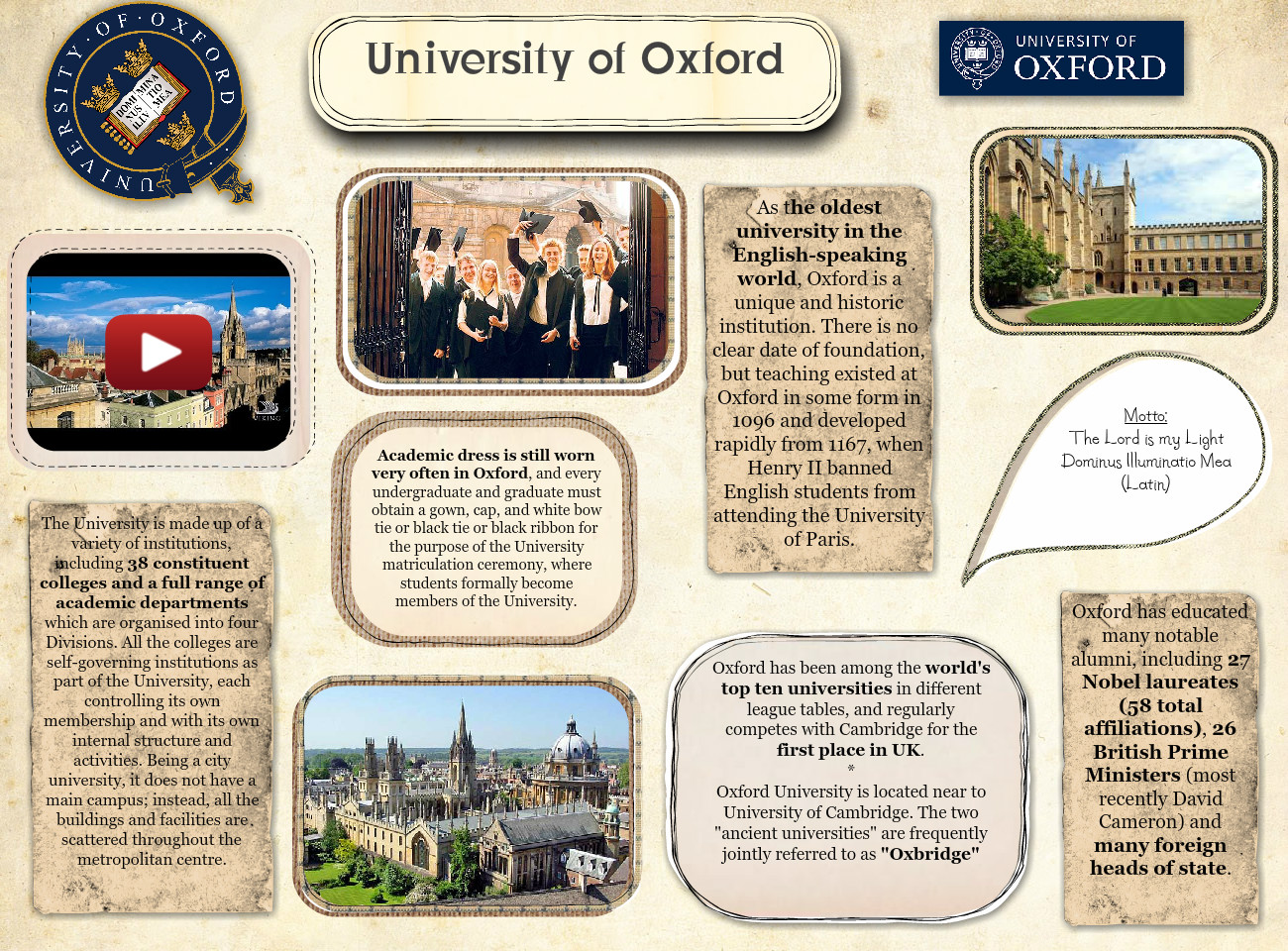 The University of Oxford