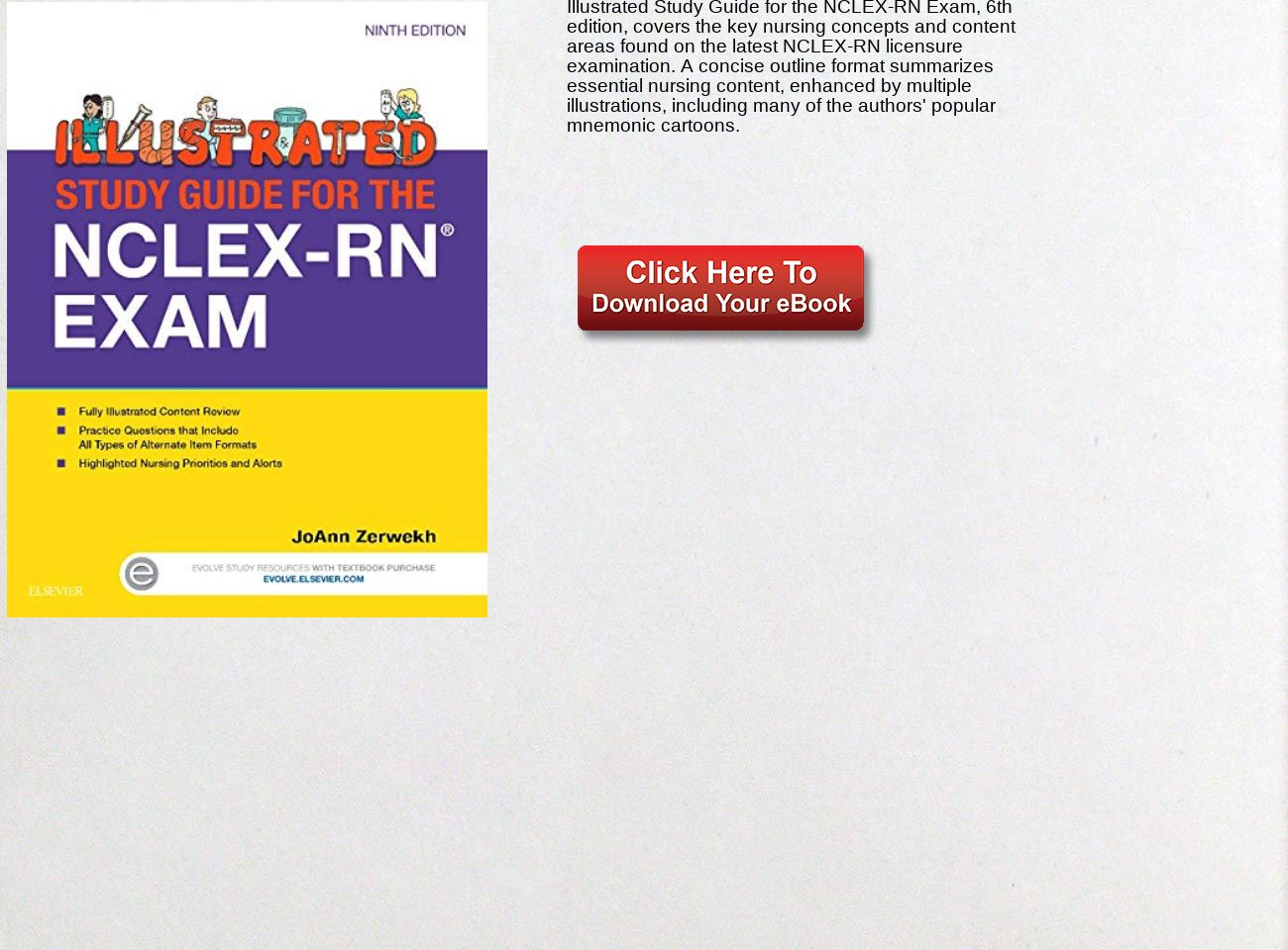 Download Ebook Illustrated Study Guide for the NCLEX-RN® Exam PDF