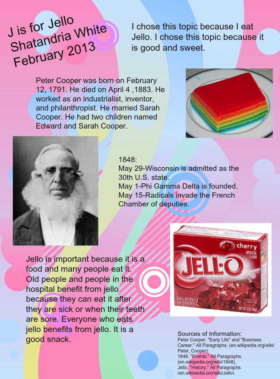 J IS FOR JELLO