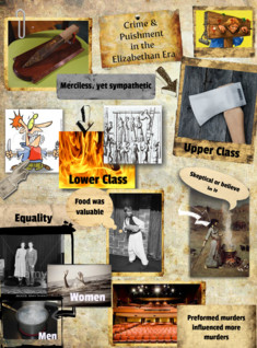 Crime and Punishment in the elizabethan era
