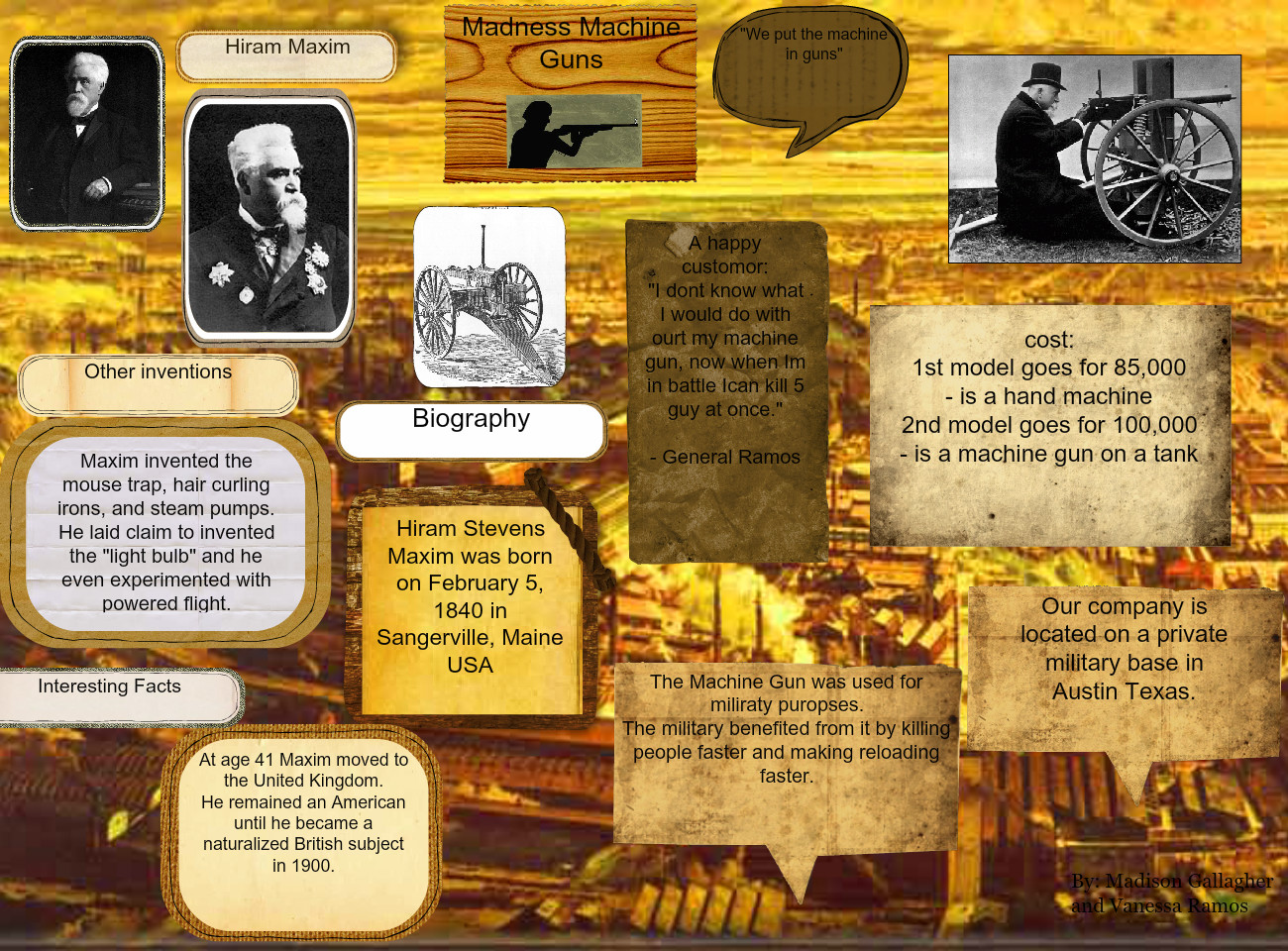 Industrial Revolution Project