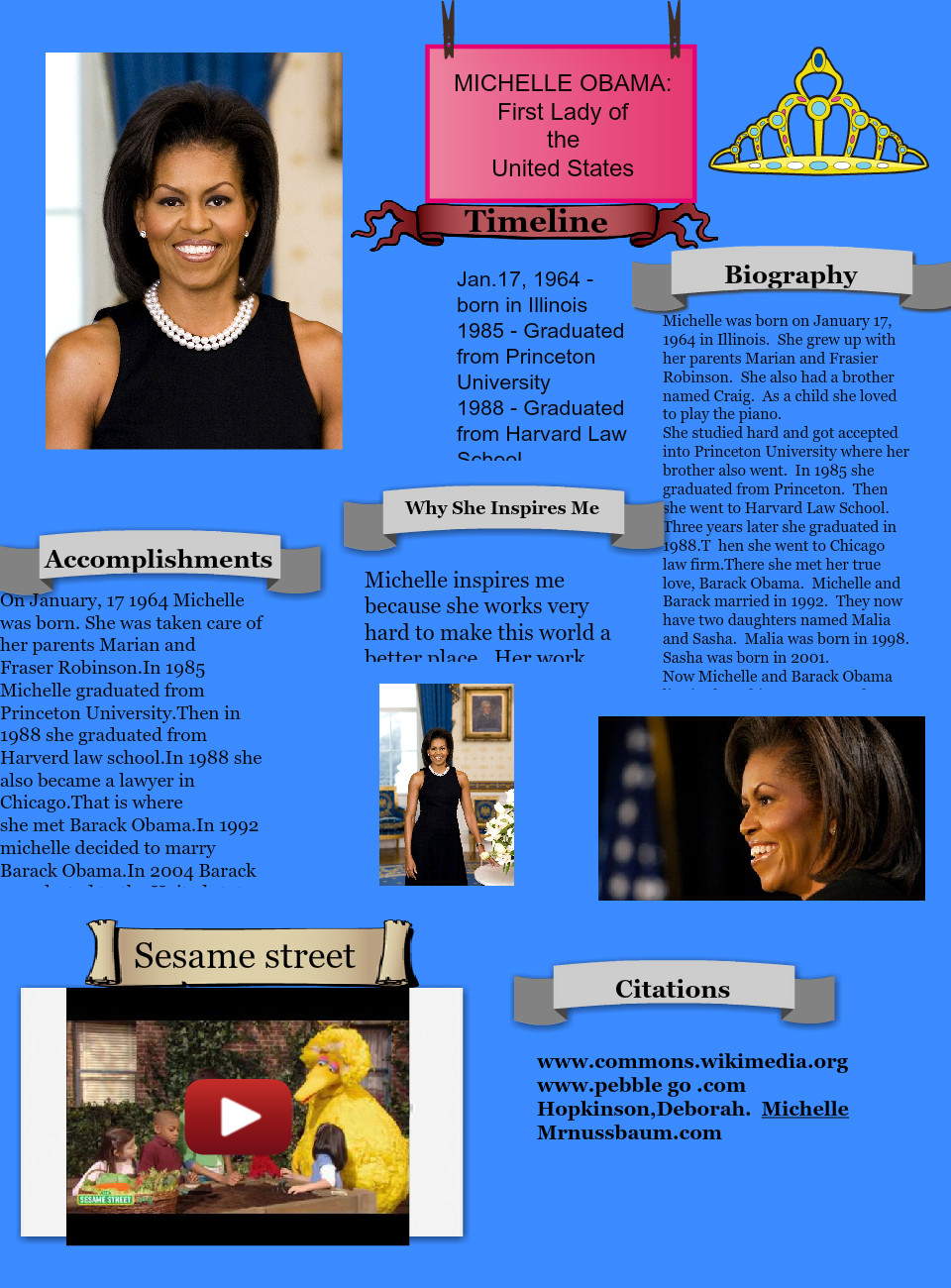 Michelle Obama Accomplishments