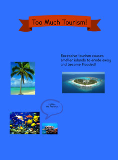 Too Much Tourism Flyer