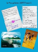 1st Pen-pal letter 2009: French 5's thumbnail