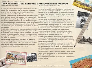 California Gold Rush and Transcontinental Railroad