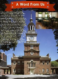 Independence Hall Word A Word From Us