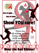 World AIDS Day December 1 - Show YOU care!'s thumbnail