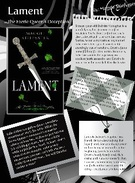 "BookJacket ""Lament""'s thumbnail"