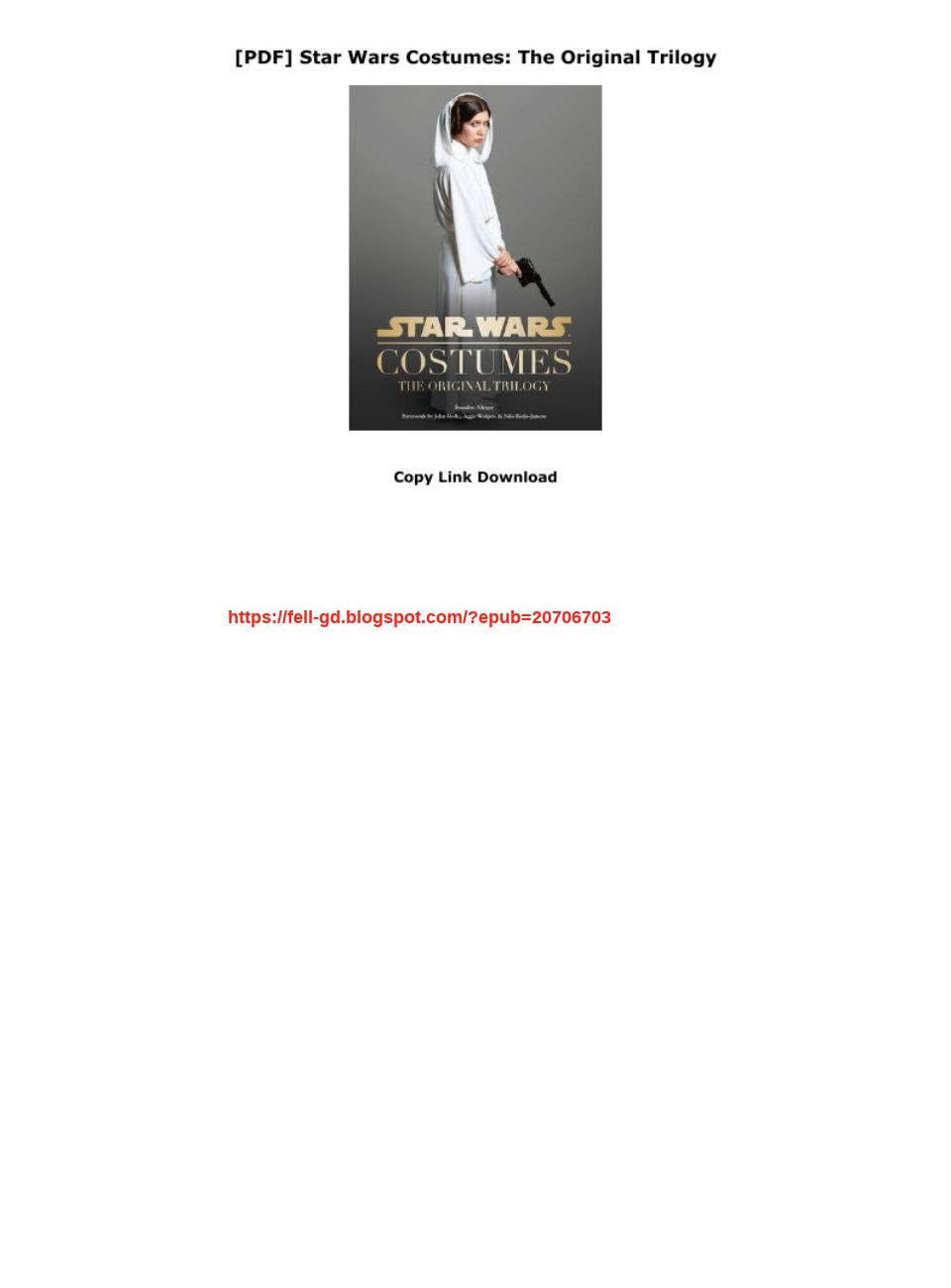 Pdf Star Wars Costumes The Original Trilogy Text Images Music Video Glogster Edu Interactive Multimedia Posters