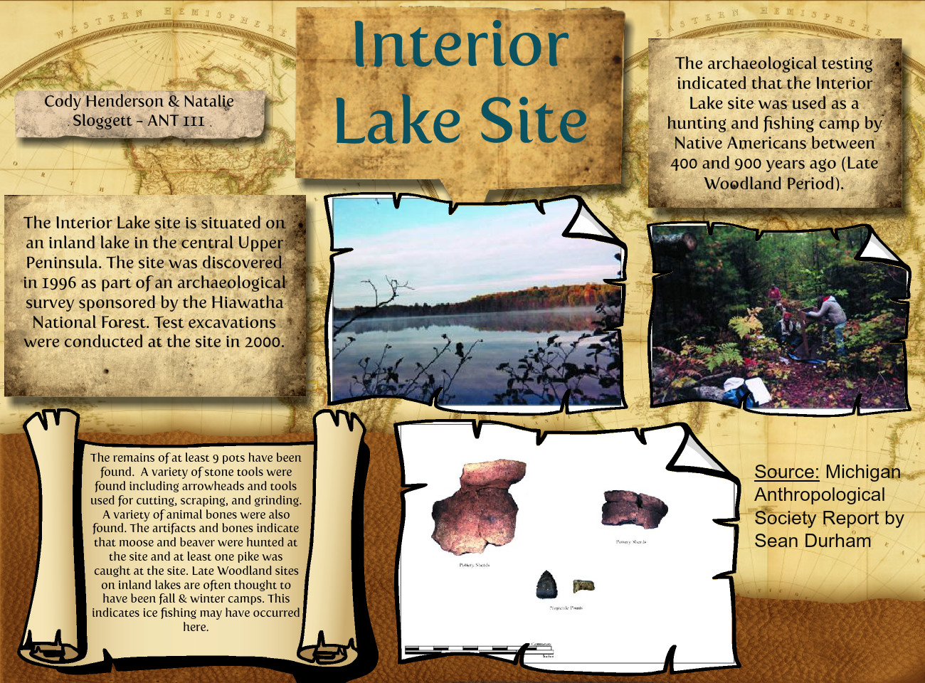 Interior Lake Archaeological Site