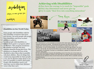 Achieving with Disabilities
